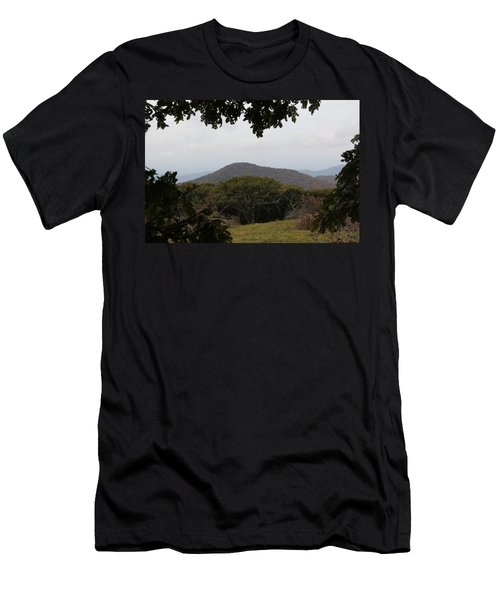 Forest Dark Space Men's T-Shirt (Athletic Fit)