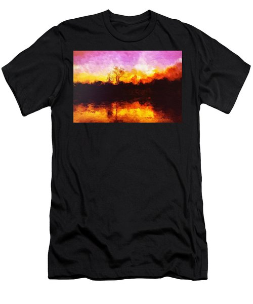 Forest Fire Men's T-Shirt (Athletic Fit)