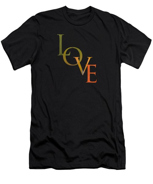 Forest Illusions- Love Men's T-Shirt (Athletic Fit)