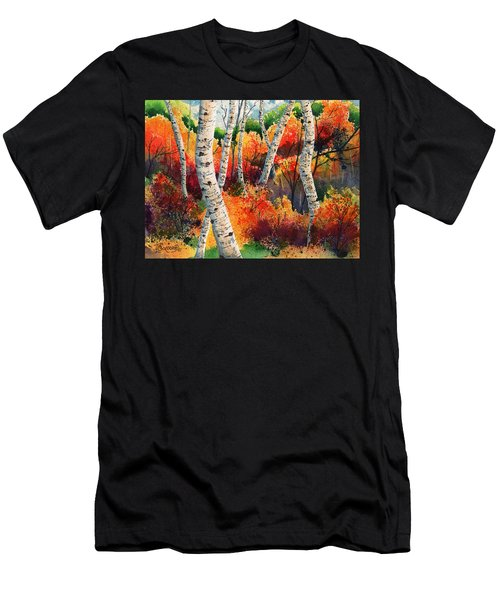 Forest In Color Men's T-Shirt (Athletic Fit)