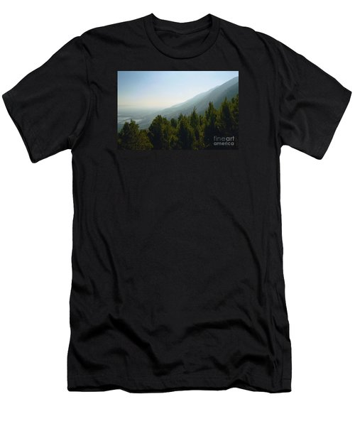 Forest In Israel Men's T-Shirt (Athletic Fit)