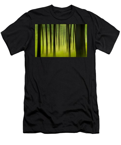 Men's T-Shirt (Athletic Fit) featuring the photograph Forest by Joye Ardyn Durham