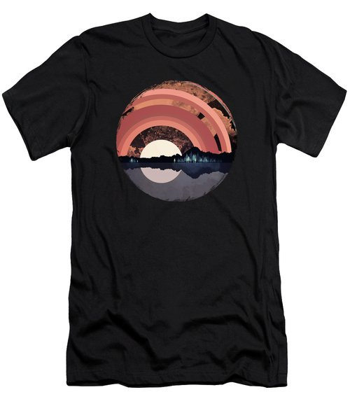 Forest Night Reflection Men's T-Shirt (Athletic Fit)