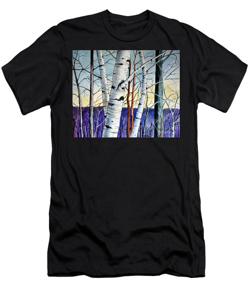 Forest Of Trees Men's T-Shirt (Athletic Fit)