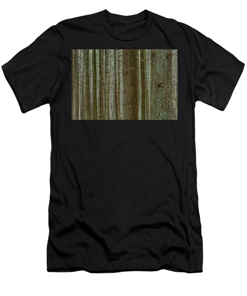 Forest Pattern Men's T-Shirt (Athletic Fit)