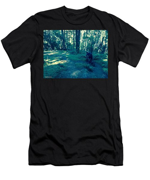 Forest Ride Men's T-Shirt (Athletic Fit)