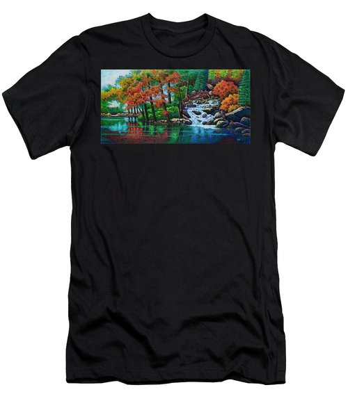 Forest Stream II Men's T-Shirt (Athletic Fit)