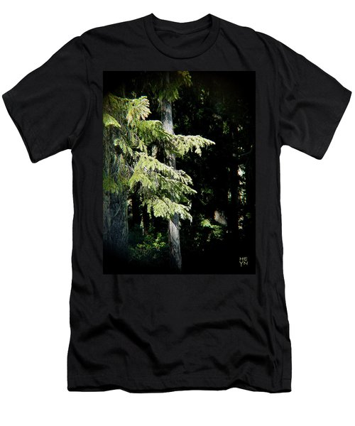 Forest Sunlight - 1 Men's T-Shirt (Athletic Fit)