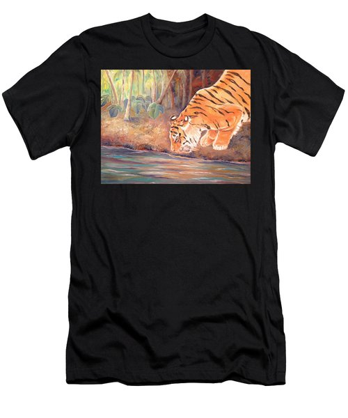Forest Tiger Men's T-Shirt (Athletic Fit)