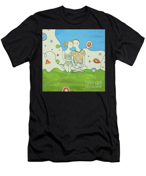 Forever Love Men's T-Shirt (Athletic Fit)