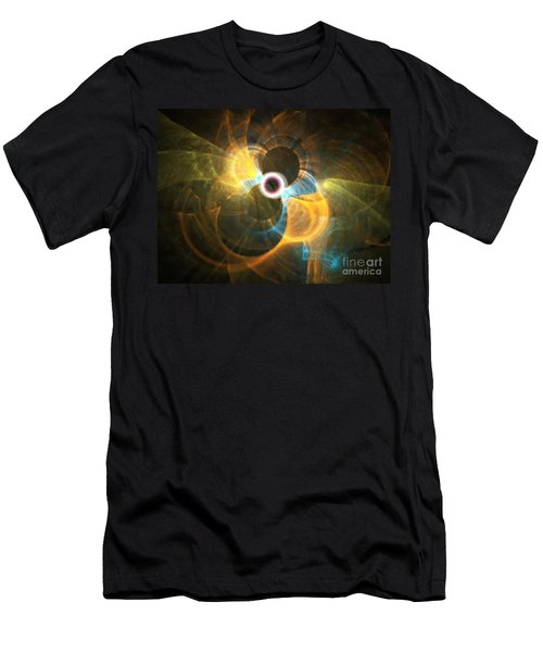Men's T-Shirt (Athletic Fit) featuring the digital art Forever by Michal Dunaj