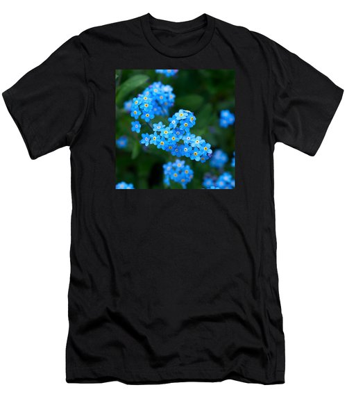 Forget -me-not 5 Men's T-Shirt (Slim Fit) by Jouko Lehto