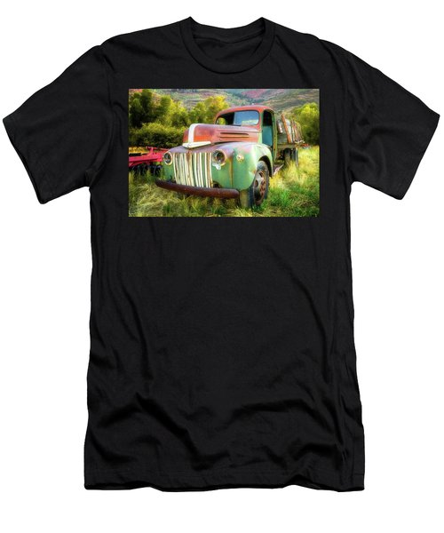 Forgotten - 1945 Ford Farm Truck Men's T-Shirt (Athletic Fit)