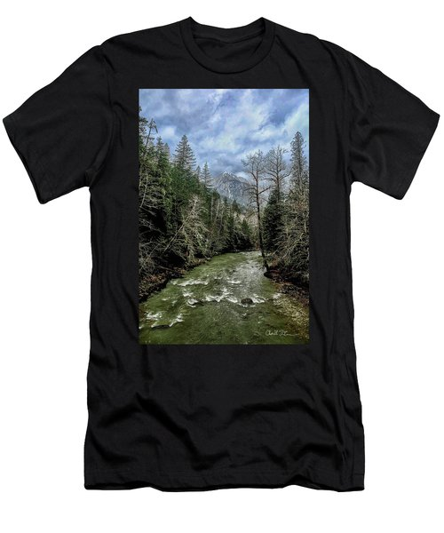 Forgotten Mountain Men's T-Shirt (Athletic Fit)