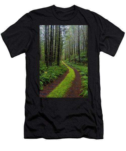 Forgotten Roads Men's T-Shirt (Athletic Fit)
