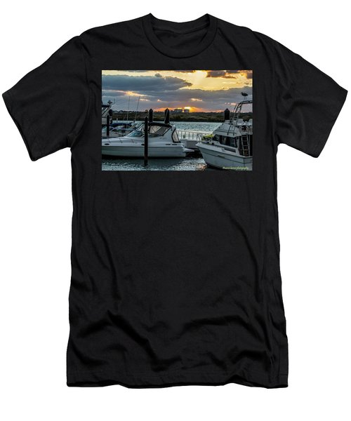 Fort Pierce Marina Men's T-Shirt (Athletic Fit)