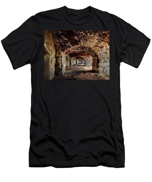 Fort Popham Men's T-Shirt (Athletic Fit)