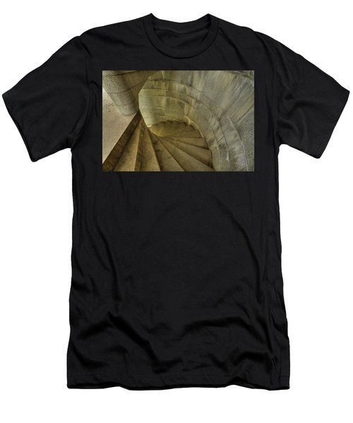 Fort Popham Stairwell Men's T-Shirt (Athletic Fit)