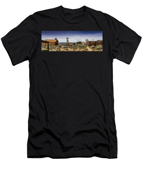 Fort Rock Museum Men's T-Shirt (Athletic Fit)