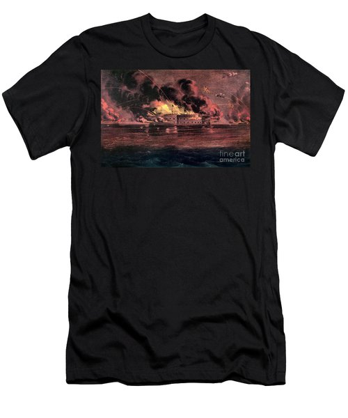 Fort Sumter, 1861 Men's T-Shirt (Athletic Fit)