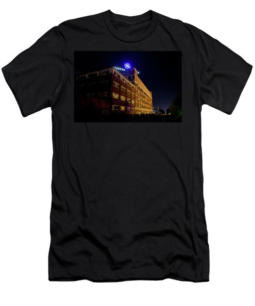 Fort Wayne In Ge Building - Jpmmedia.com Men's T-Shirt (Athletic Fit)