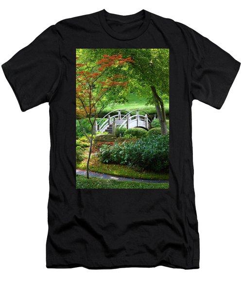 Fort Worth Botanic Garden Men's T-Shirt (Athletic Fit)
