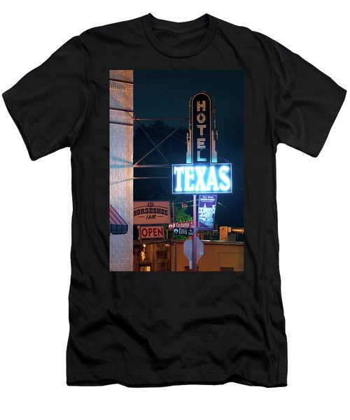 Fort Worth Hotel Texas 6616 Men's T-Shirt (Athletic Fit)