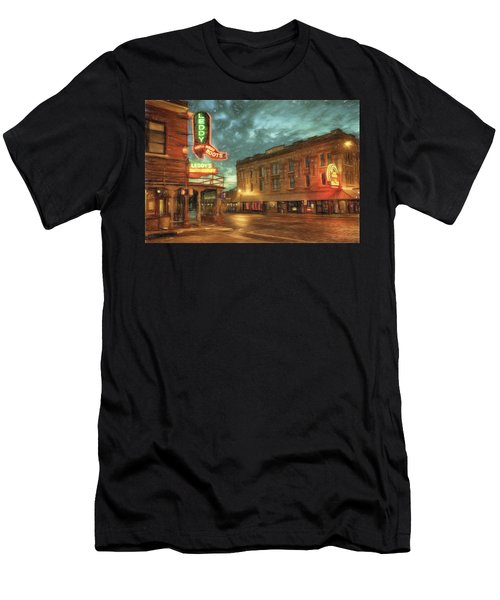 Fort Worth Impressions Main And Exchange Men's T-Shirt (Athletic Fit)