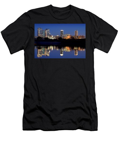 Fort Worth Reflection 41916 Men's T-Shirt (Athletic Fit)