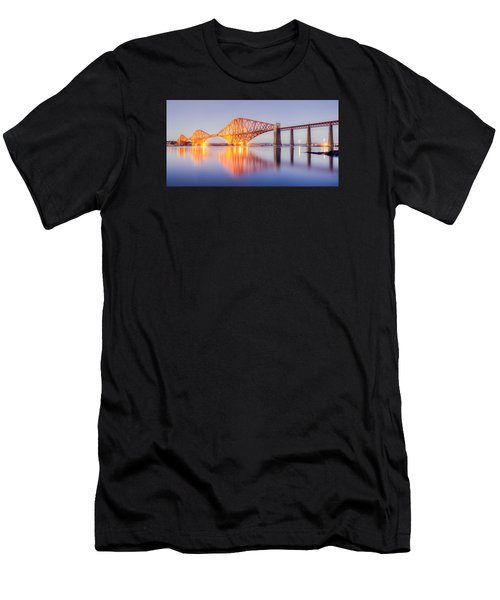 Forth Bridge Sunset Men's T-Shirt (Athletic Fit)