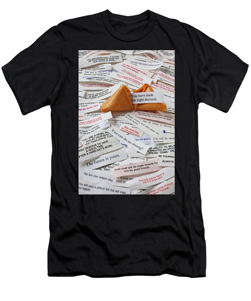 Fortune Cookie Sayings  Men's T-Shirt (Athletic Fit)