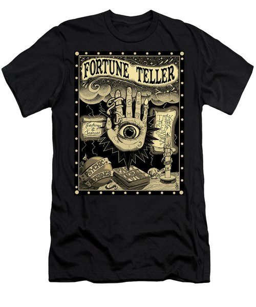 Fortune Teller Men's T-Shirt (Athletic Fit)
