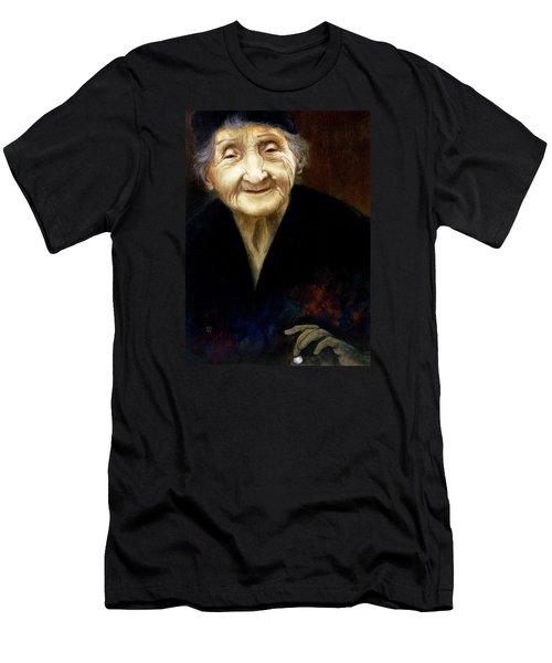 Fortune Teller Men's T-Shirt (Slim Fit) by Yvonne Wright