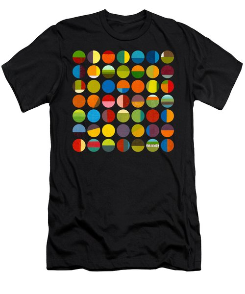 Forty Nine Circles Men's T-Shirt (Athletic Fit)