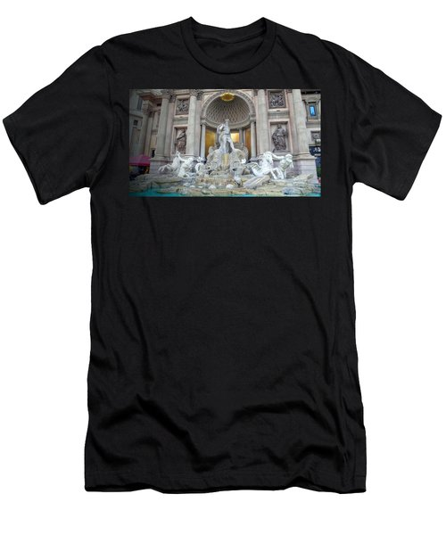 Forum Shops Statues At Ceasars Palace Men's T-Shirt (Athletic Fit)