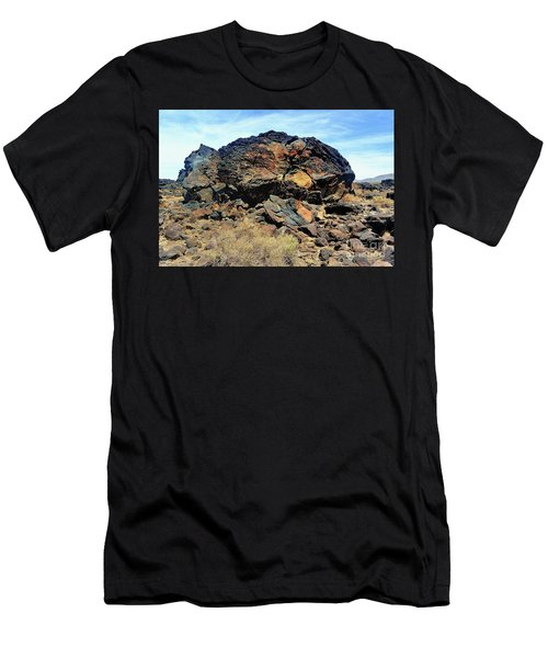 Fossil Falls Men's T-Shirt (Athletic Fit)