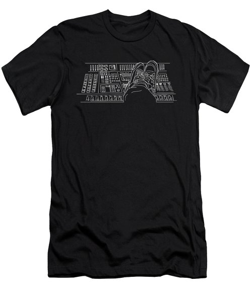 Fotcp Black Men's T-Shirt (Athletic Fit)
