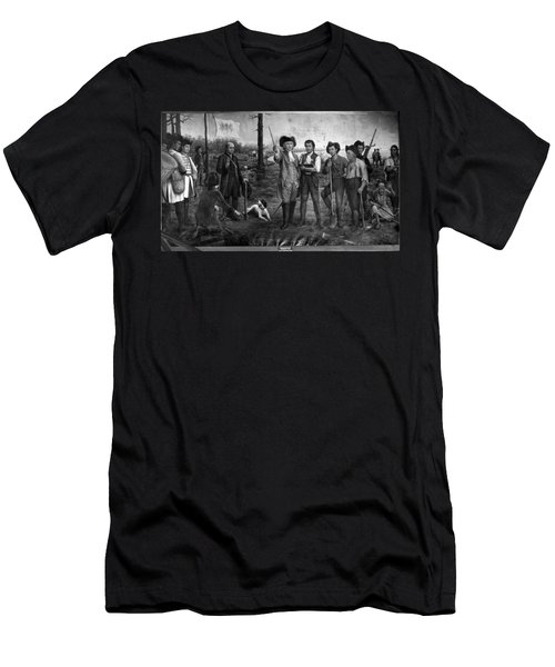 Founding Of New Orleans Men's T-Shirt (Athletic Fit)