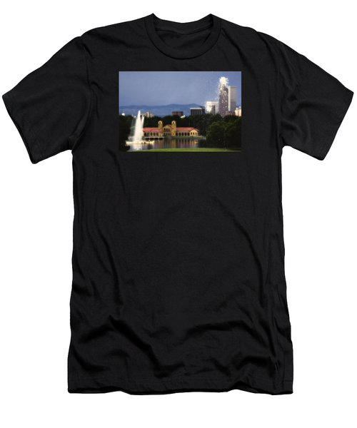 Fountains Men's T-Shirt (Athletic Fit)