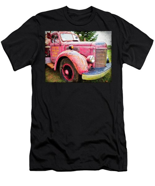 Four Alarm Blaze Men's T-Shirt (Athletic Fit)