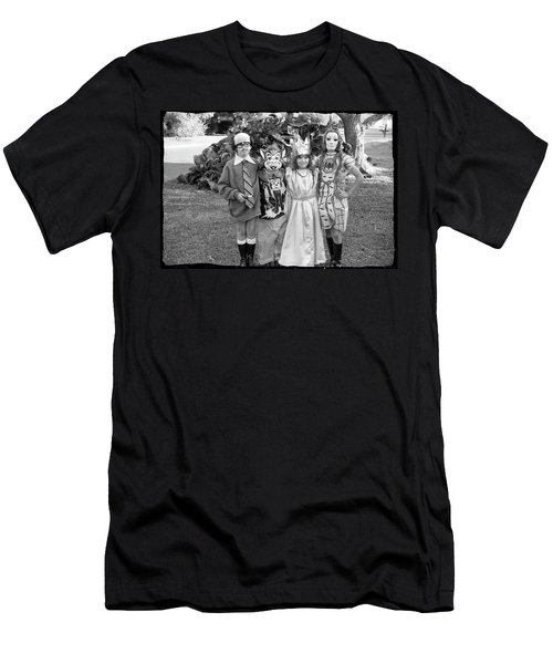 Four Girls In Halloween Costumes, 1971, Part One Men's T-Shirt (Athletic Fit)