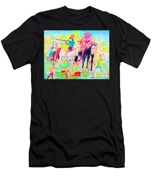 Four Horsemen Men's T-Shirt (Athletic Fit)