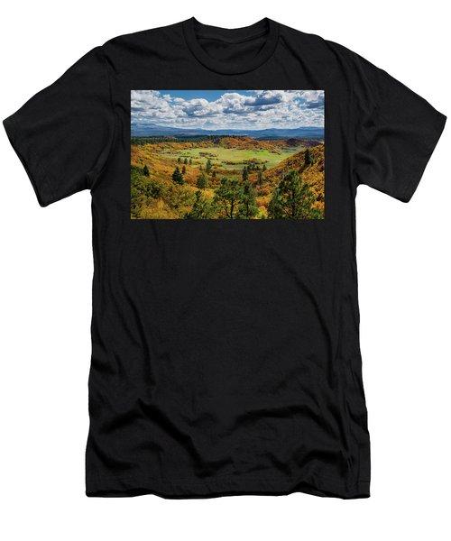 Four Mile Road Peak Color Men's T-Shirt (Athletic Fit)