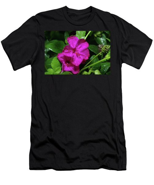 Men's T-Shirt (Slim Fit) featuring the photograph Four O'clock At 9am  by Richard Rizzo