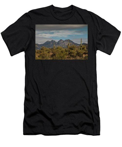 Four Peaks Men's T-Shirt (Athletic Fit)