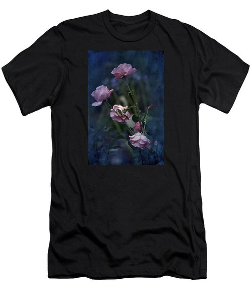 Four Roses Of August Men's T-Shirt (Athletic Fit)