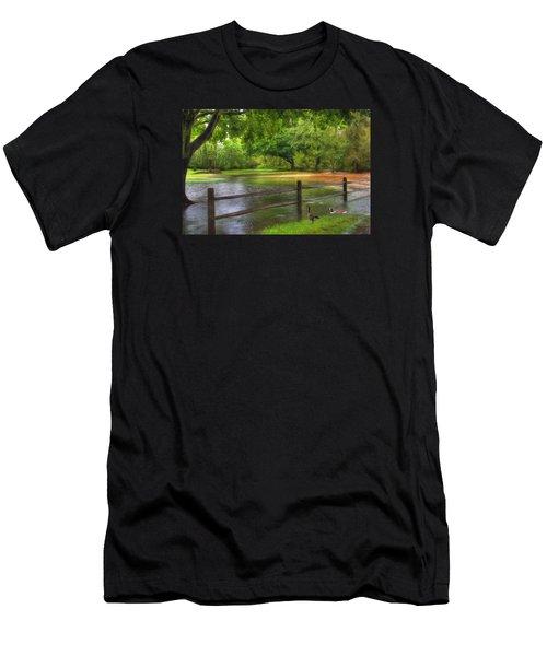 Fourth Street Flood Men's T-Shirt (Athletic Fit)