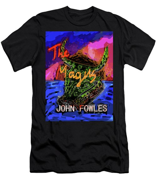 Fowles Magus Poster  Men's T-Shirt (Athletic Fit)