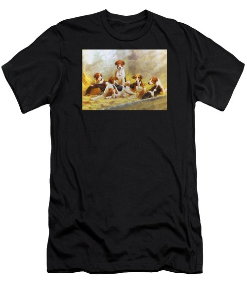 Fox Hounds Men's T-Shirt (Athletic Fit)
