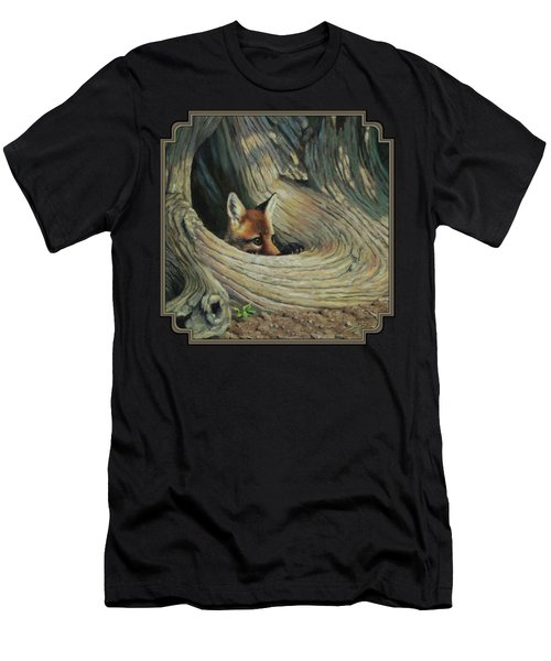 Fox - It's A Big World Out There Men's T-Shirt (Athletic Fit)